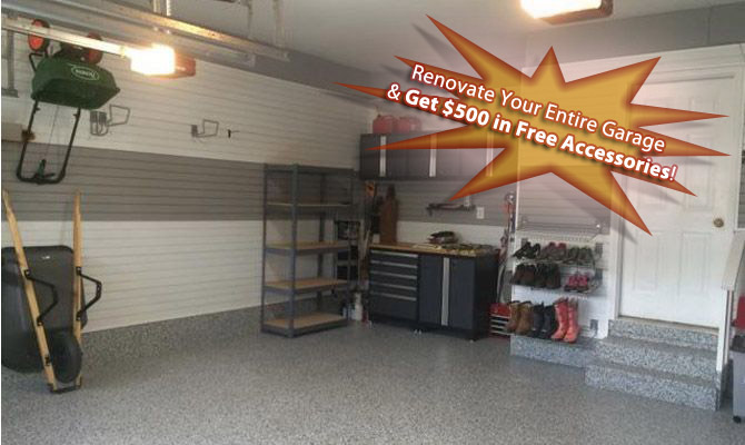 Garage Makeover in Montgomery County, MD Image 1