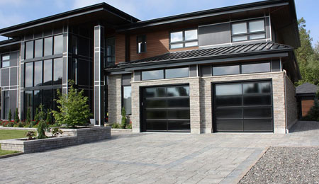 Contemporary Garage Door Frederick County Md