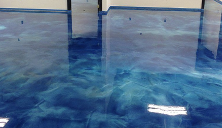 Metallic Epoxy Flooring Image 2