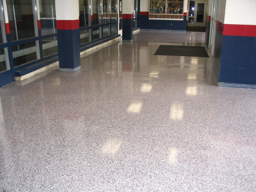 We Offer Many Commercial Garage Floor Options Including Polymer Flakes,  Quartz Granules, Natural Color Micas And Metallic Color Pigments Coating  That Will ...