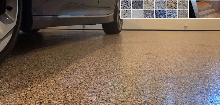 Residential Garage Flooring